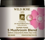Wild Rose Super Food 5 Mushroom Blend | 776521176516