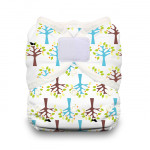 Thirsties Duo Wrap Hook and Loop Diaper Blackbird | 812087014562 | 812087014739