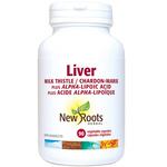 New Roots Herbal Liver Milk Thistle Plus Alpha-Lipoic Acid 90 veg capsules | 628747102063