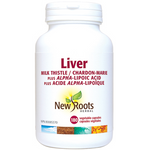 New Roots Herbal Liver Milk Thistle Plus Alpha‑Lipoic Acid | 628747108591