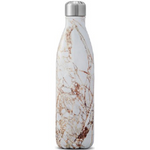 S'well Bottle The Elements Collection Stainless Steel Water Bottle Calacatta Gold | 814666025686