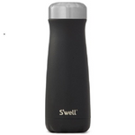 S'well Bottle Stone Collection Stainless Steel Traveler Onyx