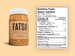 FATSO Classic High Performance Peanut Butter 500g | 627843710691