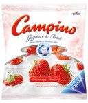 Campino Yogurt and Fruit Hard Candies Strawberry 300g | 072799377007