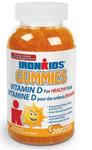 Ironkids Gummies Vitamin D 200 Gummies | 683702200154