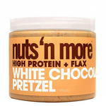 Nuts 'N More White Chocolate Pretzel High Protein + Flax Spread | 723172187842