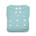 Thirsties One Size All In One Snap Diaper Aqua 8-40 lbs | 812087016191 | SKU : TB-1272-001