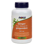 Now Foods Ginger Root 550mg 100 Capsules   733739846808