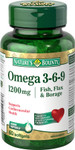 Nature's Bounty Omega 3-6-9 1200 mg 60 soft gels | 029537101516