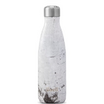 S'well Bottle Wood Collection Stainless Steel Water Bottle White Birch | 814666026300