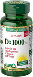 Nature's Bounty Vitamin D3 1000 IU | 029537156059