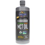 Garden of Life Dr. Formulated 100% Organic Coconut MCT Oil | 886866000640