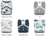 Thirsties Duo Wrap Hook and Loop Diaper Package Adventure Trail 5 Pack | 816905021947 |  816905021954