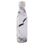 S'well Bottle The Elements Collection Stainless Steel Water Bottle White Marble