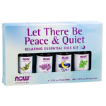 Now Essential Oils Peace and Quiet Kit 4 x 10 ml | 733739076533