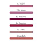 Dr. Hauschka Sheer Lipstick | 4020829044425 . 4020829044432 , 4020829044449 , 4020829044456 , 4020829044463 ,4020829044470