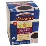 Teeccino Herbal Coffee Gluten Free Dandelion Dark Roast | 795239431106