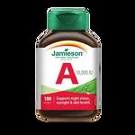 Jamieson Vitamin A 10,000 IU 100 Soft Gels | 064642020109