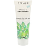 Derma E Vitamin E  Fragrance Free Therapeutic Shea Body Lotion 227g | 030985070705
