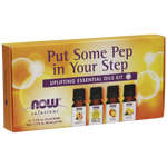Now Solutions Put Some Pep In Your Step Kit 4 x 10 ml | 733739076540