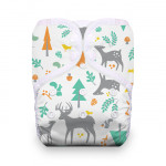 Thirsties One Size Snap Pocket Diaper Woodland