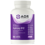 AOR Hydroxy B12 1000mcg 60 Lozenges | UPC: 624917043259 | SKU: AOR-1136-0001