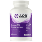 AOR Borage 500 180 V-Softgels | SKU: AOR-1199-001 | UPC: 624917740103