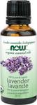 Now Essential Oils Organic 100% Pure & Organic Lavender Oil 30 mL | 733739874306