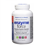 Prairie Naturals Enzyme Force with Fibrazyme Digestive Enzymes 120+20 V-Capsules   067953005506