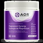 AOR Magnesium Synergy 209g 30 Servings | SKU: AOR-1187-001 | UPC: 624917044096