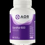 AOR Gandha-600 120 veg-caps| 624917042429