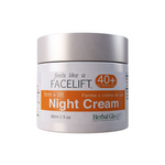 Herbal Glo Feels Like a Facelift 40+ Night Cream - Firm + Lift 60 ml