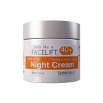 Herbal Glo Feels Like a Facelift 40+ Night Cream - Firm + Lift 60 ml