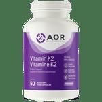 AOR Vitamin K2 120mcg 60 Vegi-Caps | 624917041439