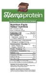 Prairie Naturals Organic Hemp Protein Organic Dark Chocolate-Nutrition | 067953002857, 067953004356