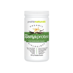 Prairie Naturals Organic Hemp Protein French Vanilla 400 g   067953002895