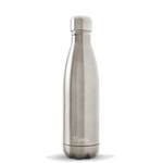 S'well Shimmer Collection Stainless Steel Water Bottle Silver Lining | 814666021381