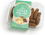 Glutenull Ginger Square Cookies 320g | 628451529026