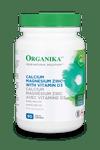 Organika Calcium Magnesium Zinc Vitamin D3 90 Tablets | 620365026509
