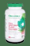 Organika Full Spectrum Plant Enzymes 500mg 260 VCAPS   620365024123