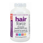 Prairie Naturals Hair Force 180 + 20 Softgels Bonus | 067953005568