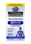 Garden of Life Dr. Formulated Probiotics Once Daily Men's 50 Billion Shelf Stable 30 veg capsules | 658010120203
