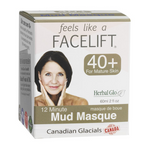 Herbal Glo Feels Like a Facelift 40+ 12 Minute Mud Masque 60 ml