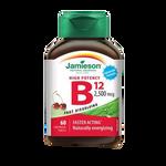 Jamieson Vitamin B12 2500 Mcg Sublingual 60 Tablets | 064642074775