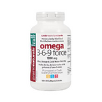 Prairie Naturals Omega 3-6-9 Force 180+20 Softgels | 067953005513