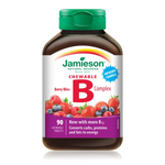Jamieson Chewable B Complex Berry Bliss 90 Tablets   064642065995