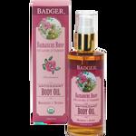 Badger Damascus Rose Body Oil   634084300611