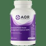 AOR Advanced PCOS Relief 120 V-Softgels | SKU: AOR-1197-001 | UPC: 624917043662