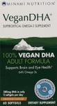 Minami Nutrition VeganDHA Orange Flavour 60 Softgels   069967150722