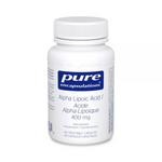 Pure Encapsulations Alpha Lipoic Acid 400mg - 60 Vegetable Capsules   766298009834